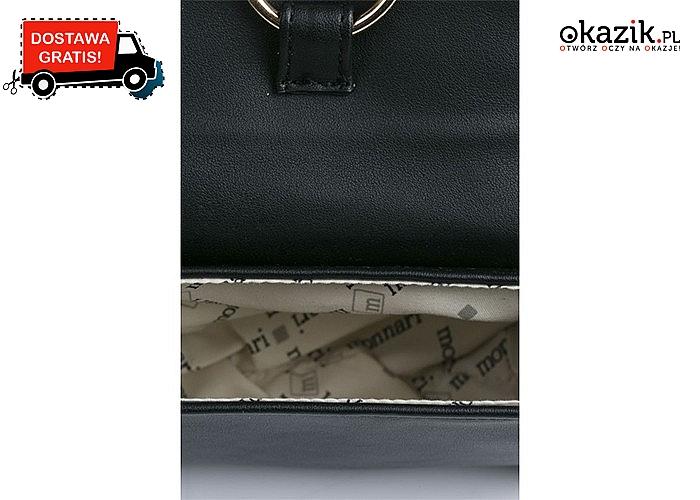 Idealna jako saszetka, portmonetka czy kosmetyczka! Mała torebka Monnari zapinana na magnesy!