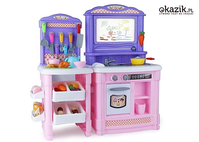 Niesamowita kuchnia dla Małego Kucharza zachwyci każdego malucha swoimi funkcjami