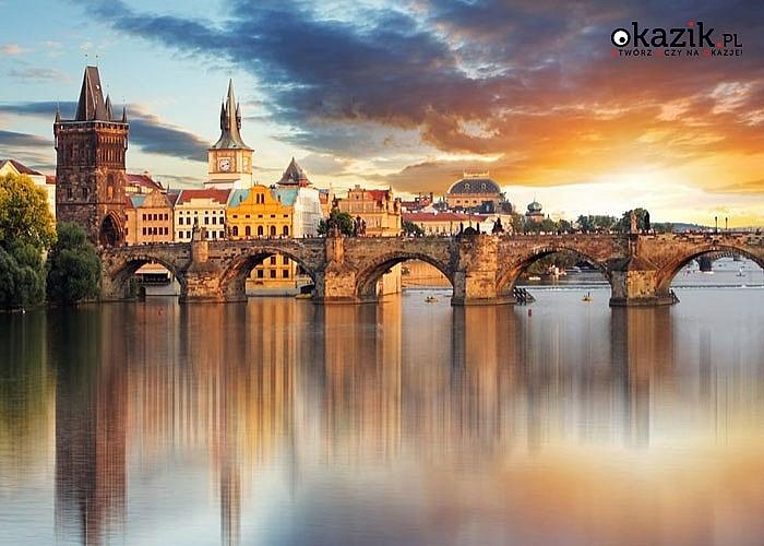 Zakochaj się ponownie! Spędź Walentynki z ukochaną osobą w iście romantycznym miejscu! Czeska Praga czeka na Was!