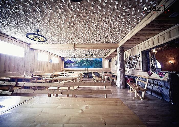 Zimowy urlop w Willa & Karczma Grota Zbójnicka w Gliczarowie Górnym! Pobyty ze śniadaniami  i obiadokolacjami!