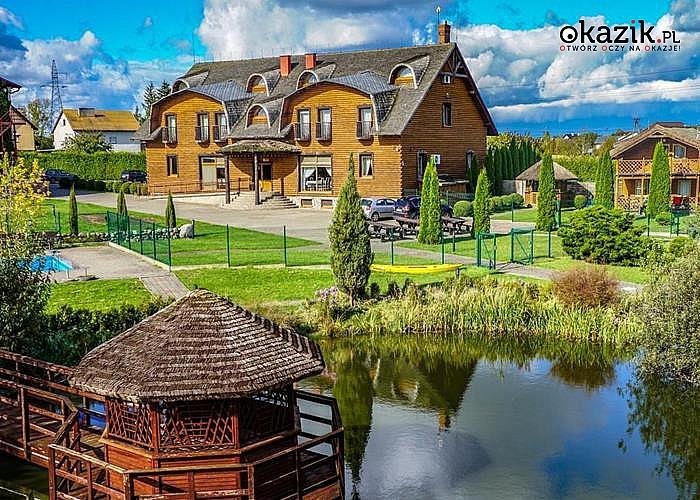 Weekend majowy na skraju Borów Tucholskich! Zrelaksuj się w Dworku Tucholskim!