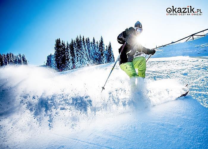 Wyszalej się na nartach! Zimowy pakiet wypoczynkowy Free Ski ośrodku RYTERSKI!