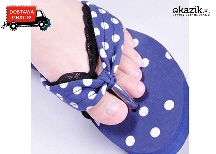 Oryginalne półwkładki do obuwia! Zapobiegają zsuwaniu się stopy! Amortyzują ucisk i zapewniają komfort chodzenia!