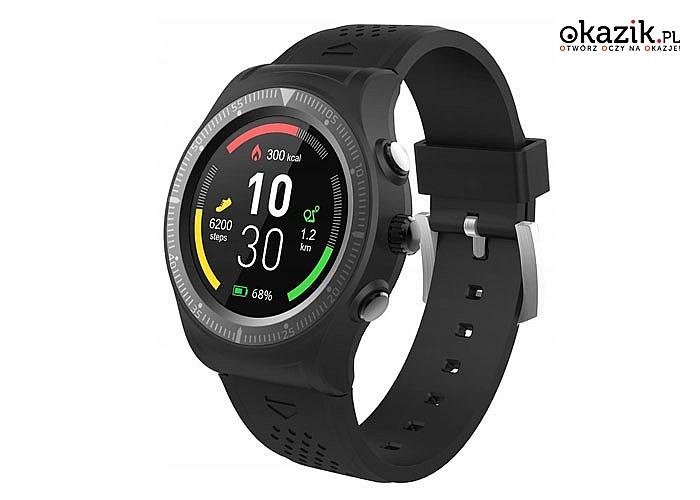 Smartwatch Overmax Touch 5! GPS, Bluetooth! 13 zbudowanych tarcz!
