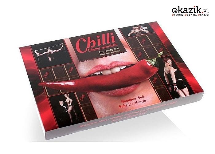 Erotyczna gra dla dwojga - Chilli, posmakuj z nią ostrego i mocnego seksu!