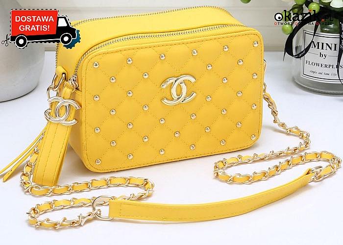 Absolutny HIT! Torebka damska Chanel! 5 kolorów! Modna i elegancka propozycja dla każdej kobiety!