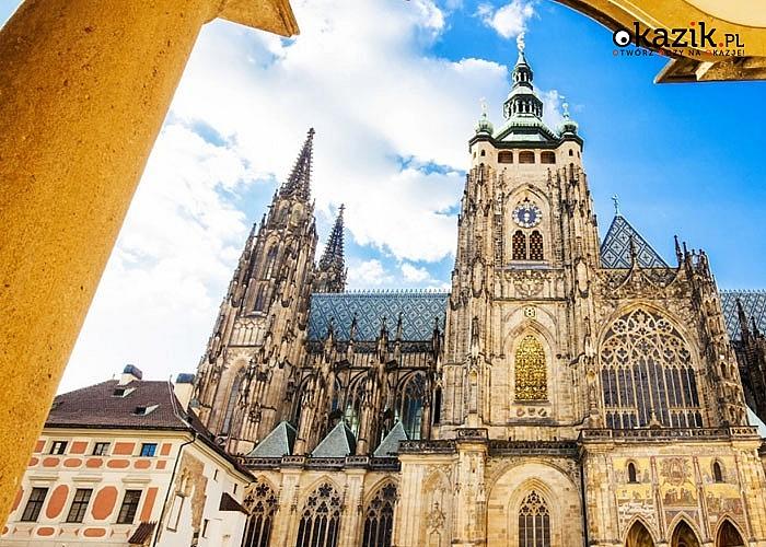 3- dniowe zwiedzanie! Wycieczka do Pragi z noclegiem w hotelu ze śniadaniami i opieką pilota.