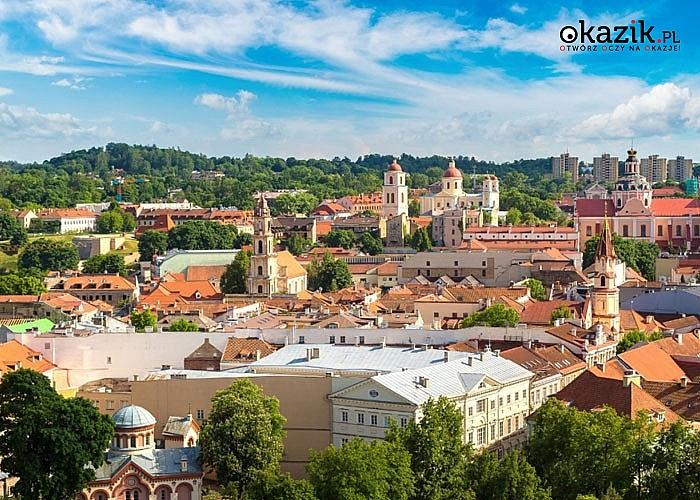 Miasto świątyń! Litewska wycieczka po zakamarkach Wilna. W cenie transport, opieka pilota, 2 noclegi w hotelu!