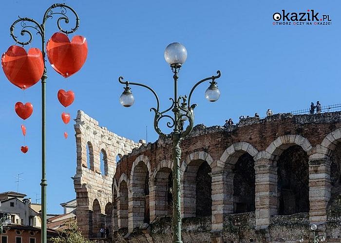 Spędź Dzień Zakochanych w mieście Romea i Julii, czyli Weronie! Autokarowa wycieczka z przewodnikiem.