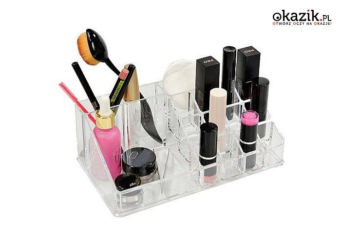 Organizer na kosmetyki! Super rozwiązanie aby poradzić sobie z bałaganem w szufladach i na półkach! 3 modele!