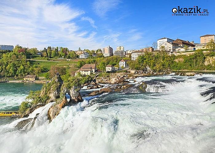 Niezapomniana wycieczka do Szwajcarii! Wodospad Rheinfall i Wyspa Mainau- autokarowa wycieczka z przepięknymi widokami.