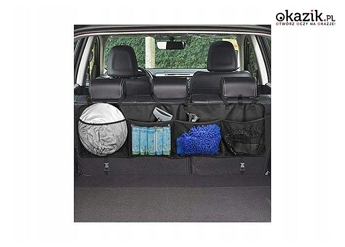 Miej wszystko uporządkowane! Organizer  do bagażnika Twojego auta!
