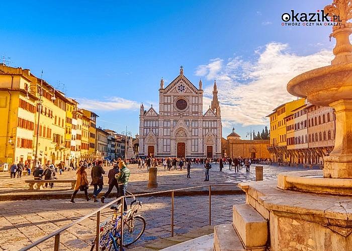 Objazdowa wycieczka po Toskanii! 6 dniowa wycieczka autokarowa po Włoszech z noclegami.