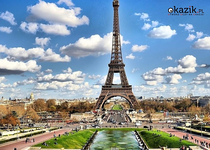 Paryż z noclegiem w Hotelu Premiere Classe! W cenie przejazd autokarem, zakwaterowanie ze śniadaniem, opieka pilota!