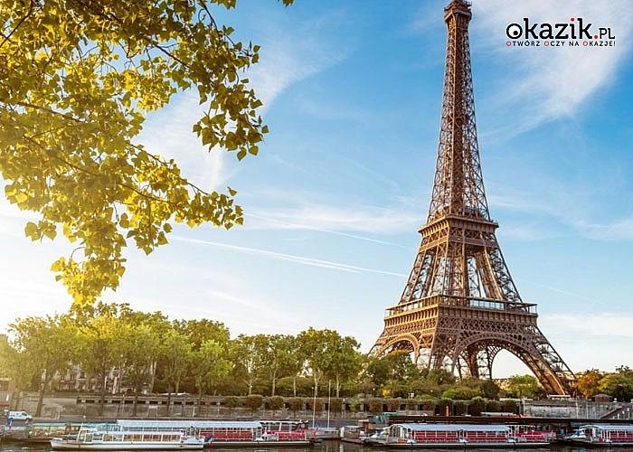 5 dni w Paryżu z wycieczką do Eurodisneylandu! W cenie przejazd autokarem, zakwaterowanie ze śniadaniem, opieka pilota!