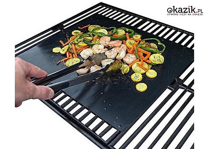 Udane pieczenie i smażenie za każdym razem! Teflonowa mata, którą możesz użyć w piekarniku, a nawet na grillu!