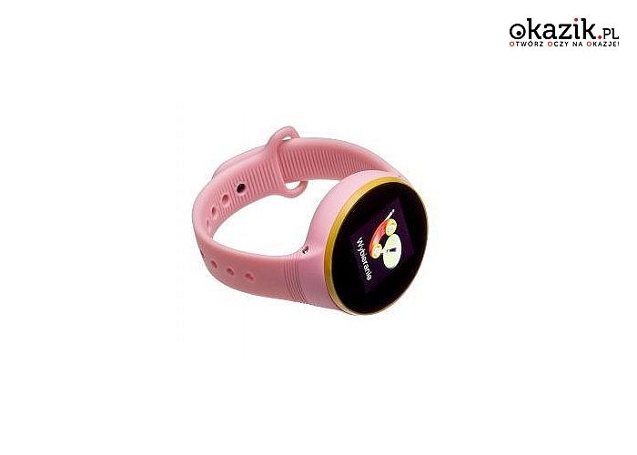 Smartwatch Garett Kids Smile to znakomita opcja dla wszystkich rodziców, którzy dbają o bezpieczeństwo swoich dzieci