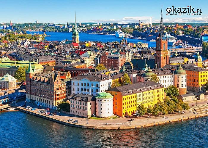 Ryga i Sztokholm promem, czyli tam i z powrotem! 5- dniowa wycieczka autokarowa z 2 noclegami na promie!