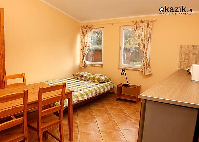 Ośrodek wypoczynkowy Sasek zaprasza na czerwcowy weekend w komfortowych domkach!