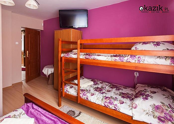 Sielski Bieszczady! Zaplanuj letni urlop w Domu Wypoczynkowym ANTOŚ w Baligrodzie!