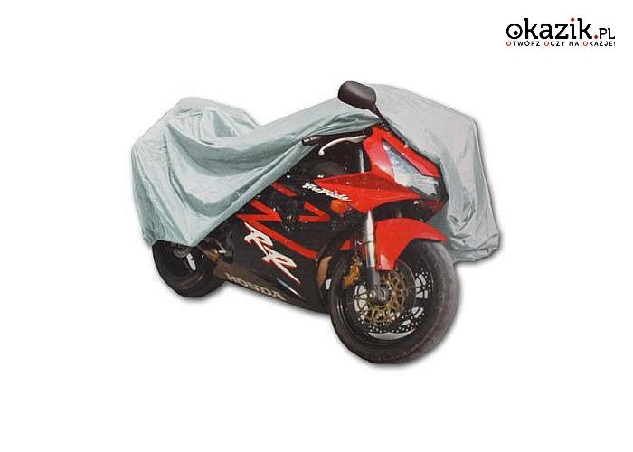 Zadbaj o swój sprzęt! Wodoodporny pokrowiec na motor lub rower!