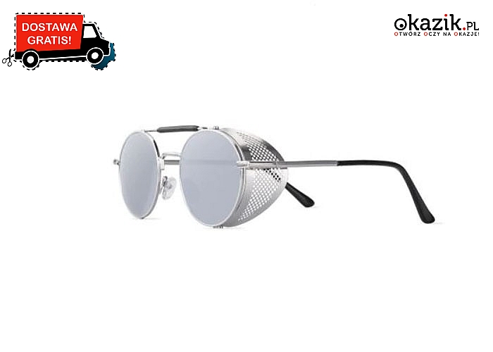 Retro okulary przeciwsłoneczne! Model unisex- idealne zarówno dla kobiet i mężczyzn!