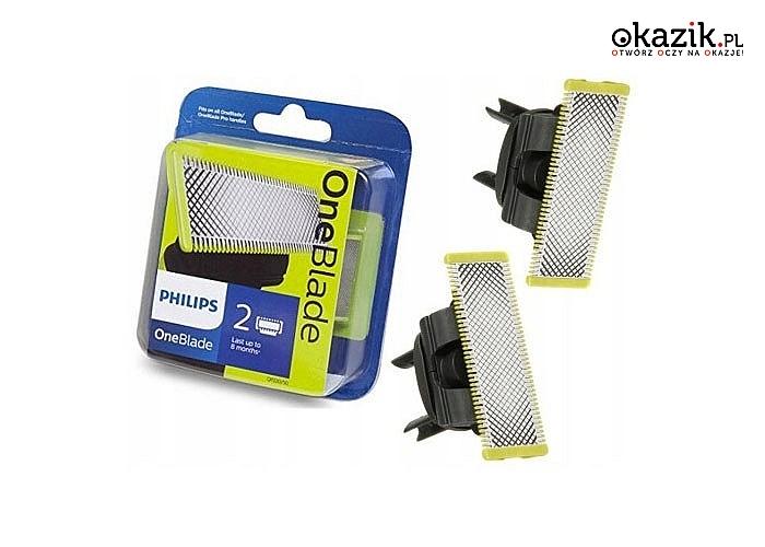 Ostrza wymienne Philips QP220/50 OneBlade! 2 sztuki w zestawie!
