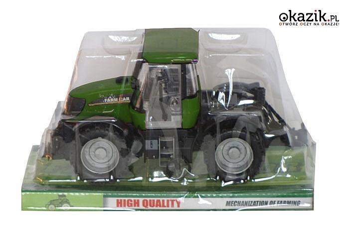 Zabawka traktor zapewni godziny świetnej zabawy w farmę