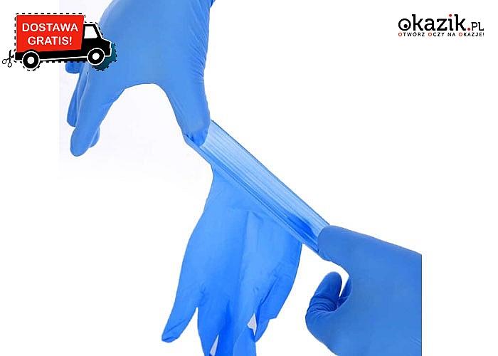 Do pracy, do domu, na zakupy! Rękawiczki lateksowe chroniące Twoje dłonie!