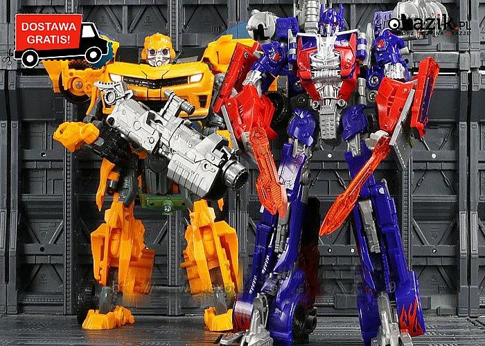 Spraw dziecku wspaniały prezent ! Transformers! Modele 2 w 1!