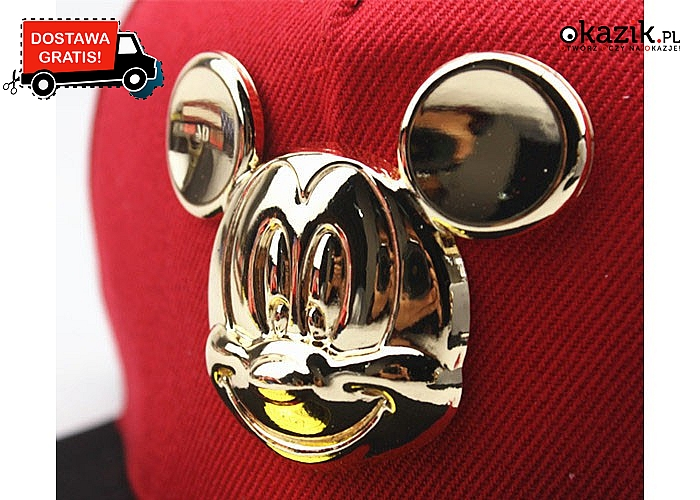 Rewelacyjna czapka z wizerunkiem Myszki Miki spodoba się każdemu dziecku! Dostępna w 4 wariantach kolorystycznych!