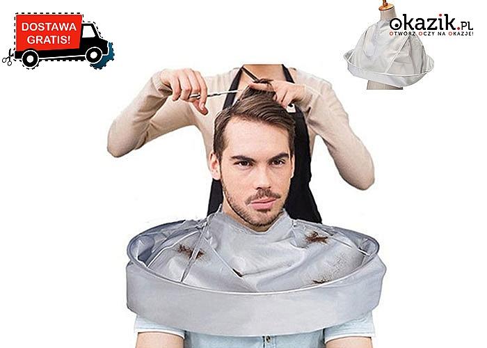 Koniec z irytującymi latającymi włosami! Kołnierz fryzjerski idealny do strzyżenia włosów!
