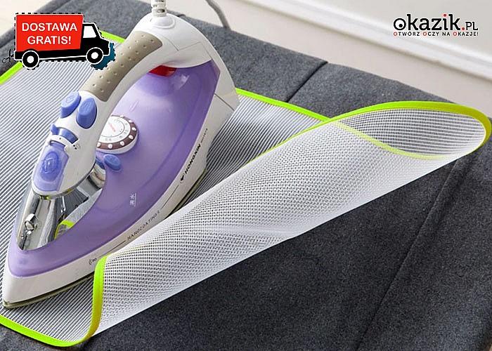 Zabezpiecz swoje ubrania przed niechcianym przypaleniem! Ochronna mata do prasowania.