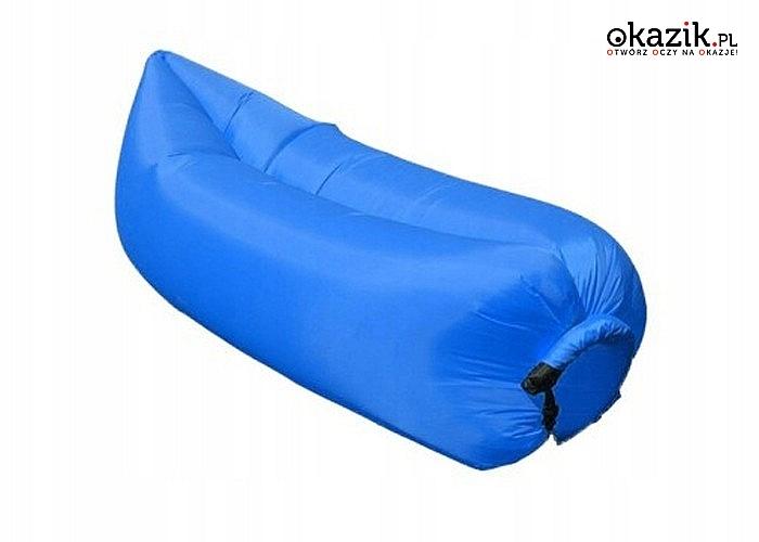 Magiczna kanapa na powietrze! Lazy Bag! Zabierz ją ze sobą gdzie tylko chcesz!