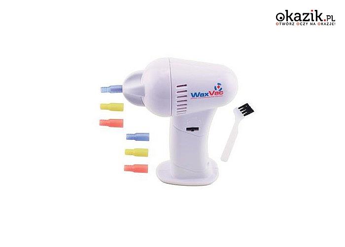 Zadbaj o higienę swoich uszu! Urządzenie do czyszczenia WaxVac bezpieczne dla Twojego zdrowia