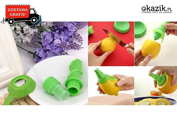 Nowość! Praktyczny wyciskacz do owoców z funkcją Spray!