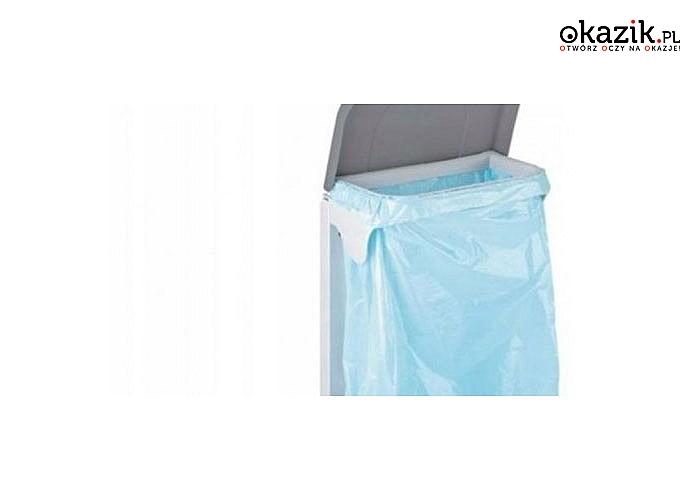 Kosz montowany na drzwi szafki! Meliconi Ecolgica! Wyrzucanie i sortowanie odpadów stanie się łatwe i przyjemne!