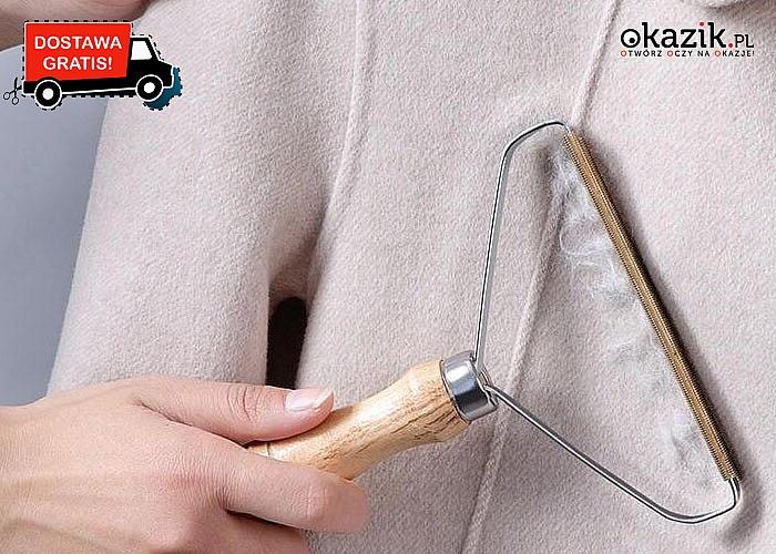 Ręczna golarka do usuwania zmechaceń z ubrań sprawi ,że Twoje ubrania będą znów wyglądały jak nowe