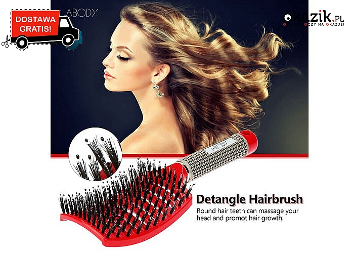 Totalny hit! Bezkonkurencyjna szczotka podczas codziennego modelowania włosów!