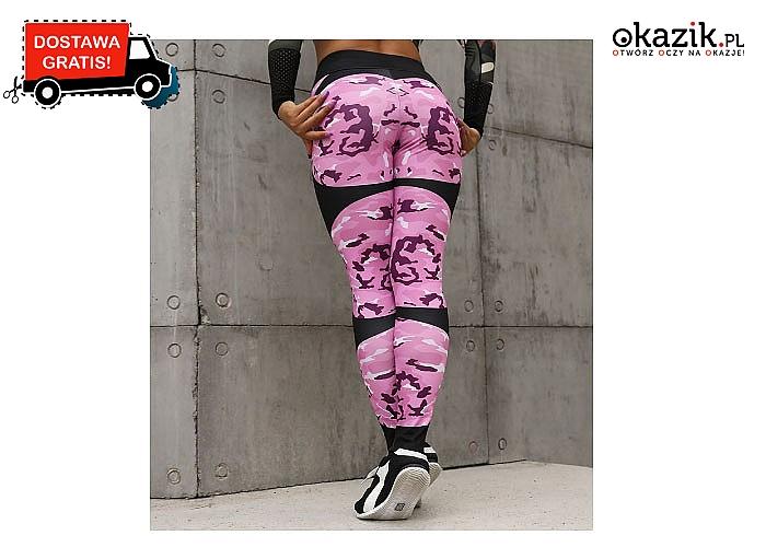 MEGA legginsy push-up z wysoką talią! 8 modeli do wyboru!!