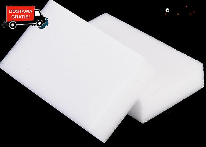 Z nimi wyczyścisz wszystko bez wysiłku! Magiczne gąbeczki, które czyszczą różne powierzchnie bez użycia detergentów.