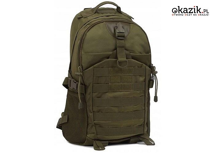 Taktyczny plecak wojskowy z wodoodpornego materiału! Trzy kolory do wyboru.