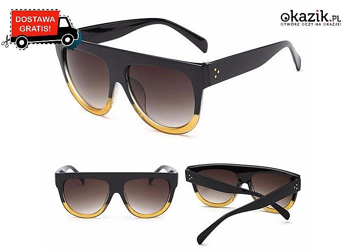 Stylowe okulary przeciwsłoneczne! Dostępne w szerokim wachlarzu kolorów!