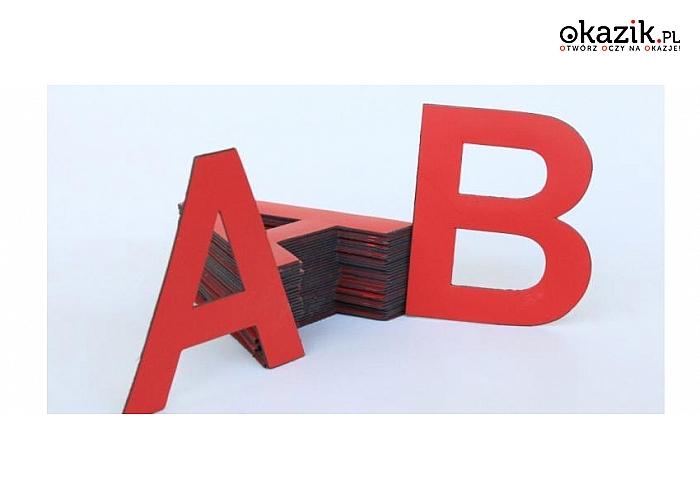 Doskonałe zestawy liter magnetycznych! Świetne do nauki i zabawy