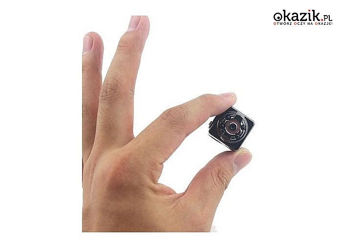 HIT! Najmniejsza kamera detektywistyczna o dużej rozdzielczości