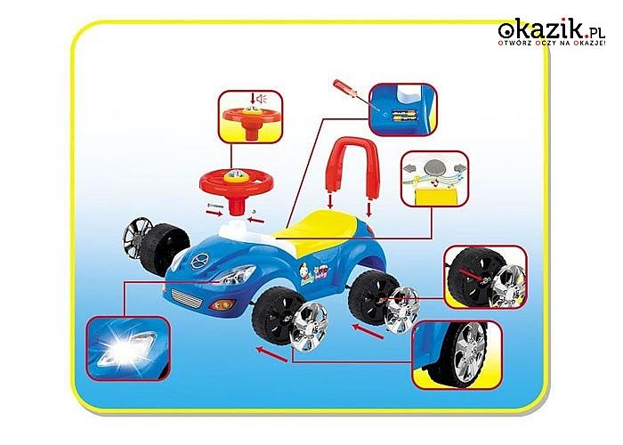 Żywe kolory! Interesująca zabawka dla najmłodszych!