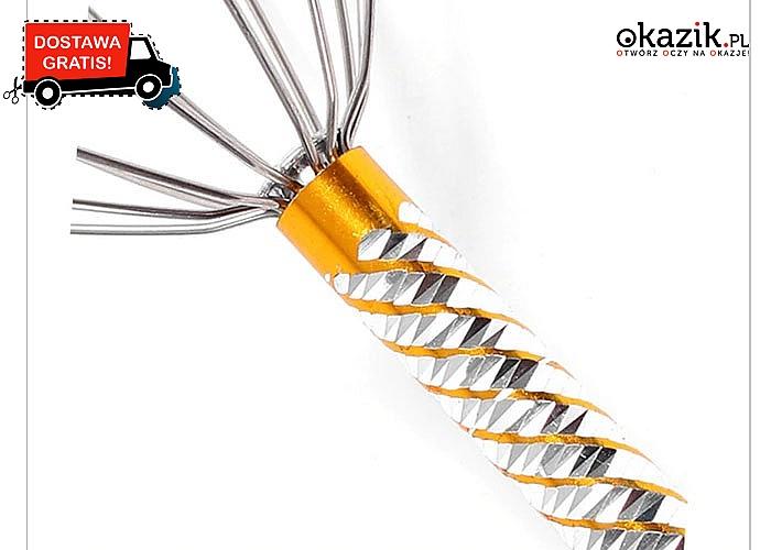 HIT! Masażer do głowy! Zwiększa ukrwienie wokół cebulek włosów! Idealne odprężenie po stresującym dniu!