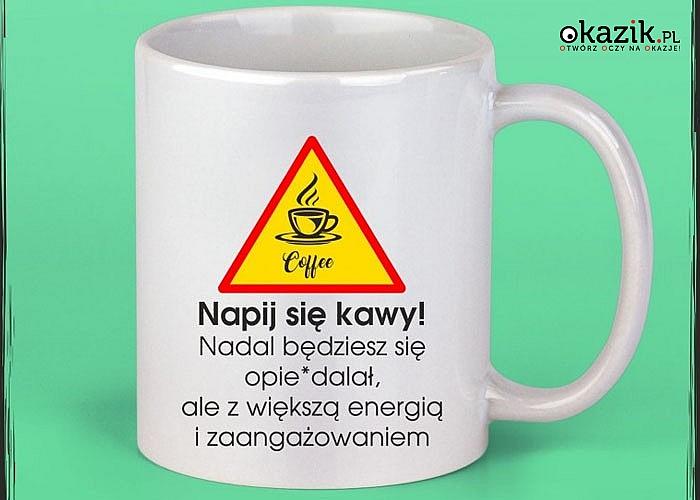 Zabawne kubki! Wyraź swoje emocje pijąc kawę! Idealna na prezent! 3 wzory!