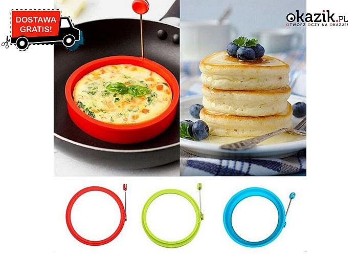 SUPER OKAZJA! Silikonowa forma do jajek oraz omletów z regulacją