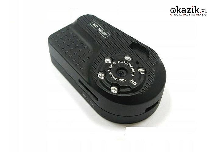 Ukryta kamera FULL HD z dyktafonem i aparatem zarejestruje wszystko co i gdzie chcesz